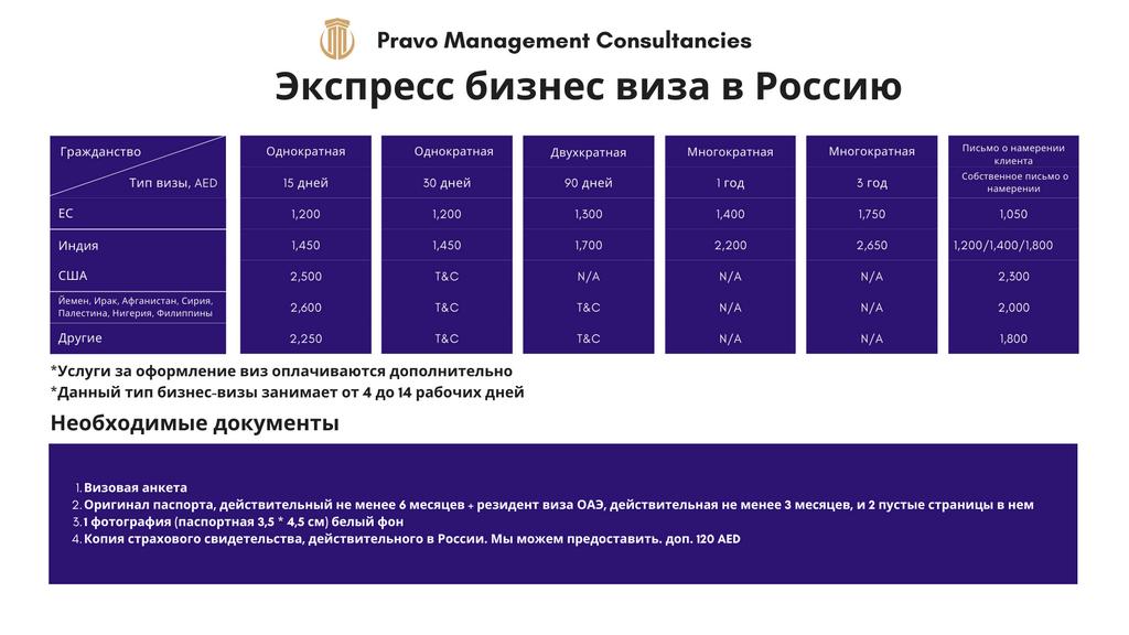 Russian visa rus