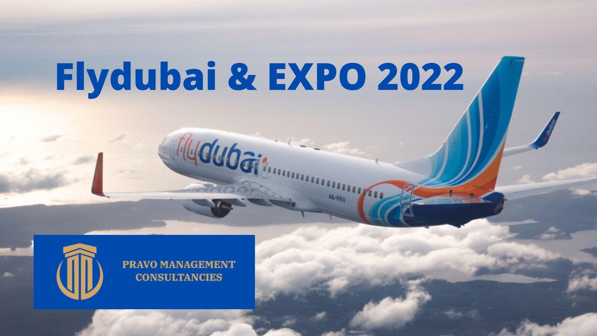 flydubai and expo 2022