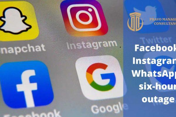 Facebook, Instagram, WhatsApp restored after hours-long blackout